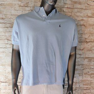 RALPH LAUREN MESH POLO MEN'S SHORT SLEEVE NEW